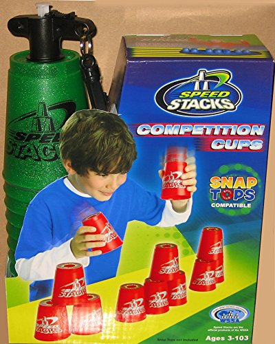 New METALLIC GREEN Speed Stacks Competition Cups