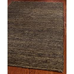Safavieh Organica ORG213A Brown 9' x 12' Handmade All-Green Hemp and Vegetable Dye Area Rug