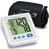 MIBEST Portable Blood Pressure Monitor - BP Cuff Meter with Display - Standard Size Blood Pressure Machine 8.7-12.6