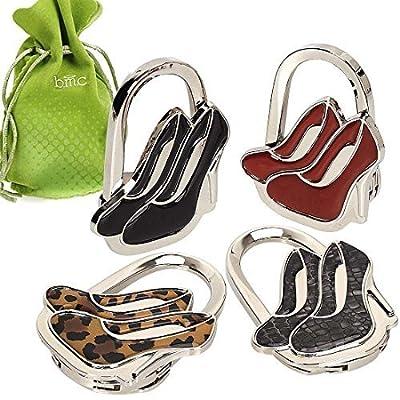 BMC 4-tlg. Gemischt Designiert Schulter- / Handtasche Faltreifen Geldbörse Halter Kleiderbügel Haken Set