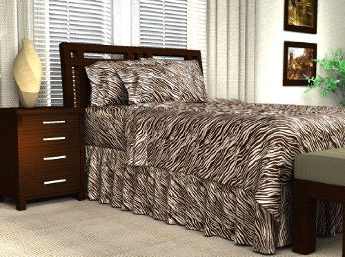 Zebra Print Bedding Twin front-160303