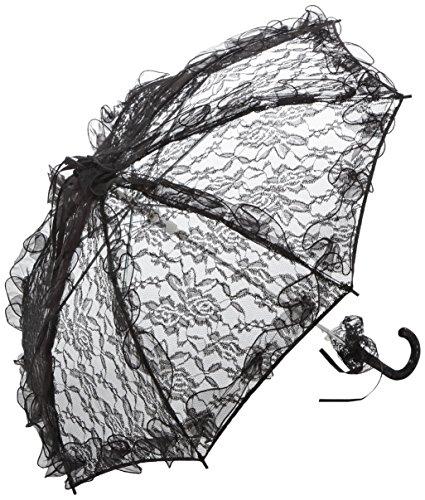"""VON LILIENFELD Ombrello da sposa """"Desirée"""", nero"""