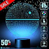 Death Star 3D Light Awesome Gift for Star Wars Fans 75159 (MT271) Starwars Gifts (Color: Multi-colored)