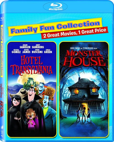 Blu-ray : Hotel Transylvania/ Monster House (AC-3, Widescreen, , Dubbed, 2 Pack)