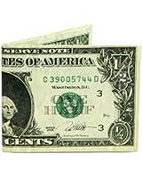 Dynomighty Men's Half Dollar Mighty Wallet - Super Thin Lightweight Tyvek Billfold