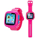 YNCTE Game Smart Watch for Kids with Digital Camera Games Touch Screen, Cool Toys Watch Gifts for Girls Boys Children(Pink)