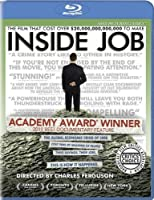 Inside Job Blu-ray from Sony Pictures Classics