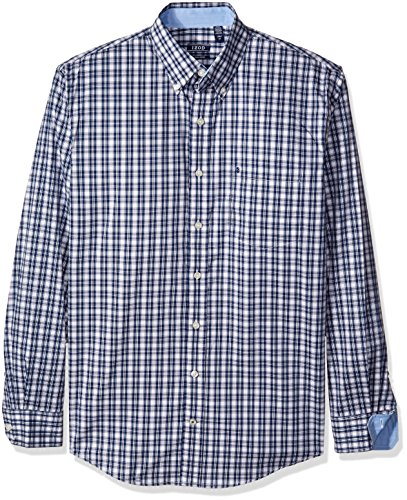 IZOD Men's Big and Tall Advantage Performance Non Iron Stretch Long Sleeve Shirt, Estate Blue, 2X-Large Tall (Big And Tall Shirts compare prices)