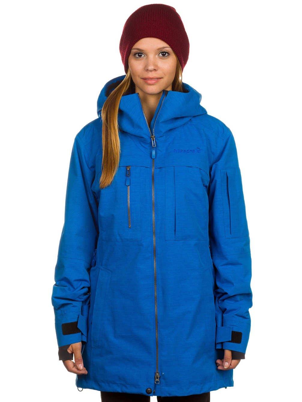 Damen Snowboard Jacke Norrona Roldal Gore Tex Prima Loft Jacket
