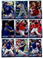 2015 Topps Update Series Chicago Cubs Baseball Cards Team Set of 17 Cards: Kris Bryant, Rookies Rising, David Ross, Tommy Hunter, Jorge Soler, Addison Russell, Addison Russell, Anthony Rizzo, Kris Bryant, Anthony Rizzo, Pedro Strop, Kris Bryant, Jonathan