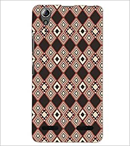 PrintDhaba Pattern D-5223 Back Case Cover for LENOVO A6000 (Multi-Coloured)
