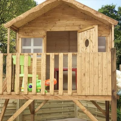 Childrens Wooden Playhouse 14 x 7 OGD083