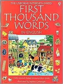 """First thousand words in English"" in Usborne Quicklinks"