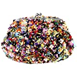 Back From Bali Womens Multi-colored Sequins Sequined Clutch Purse