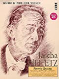 Music Minus One Violin: Jascha Heifitz Favorite Encores (Book & 2 CDs)