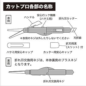 オート はさみ カットプロ ブルー CTP-650-BL