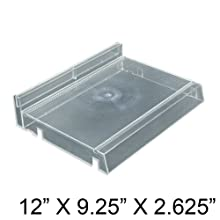 Azar 225831 Modular Cosmetic Tray with Adjustable Track Kit