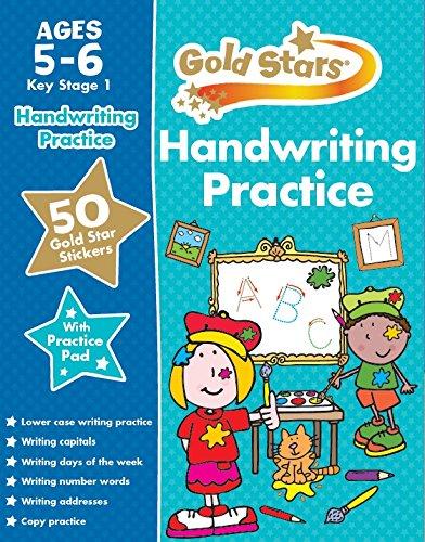 Gold Stars Handwriting Practice Ages 5-6 KS1