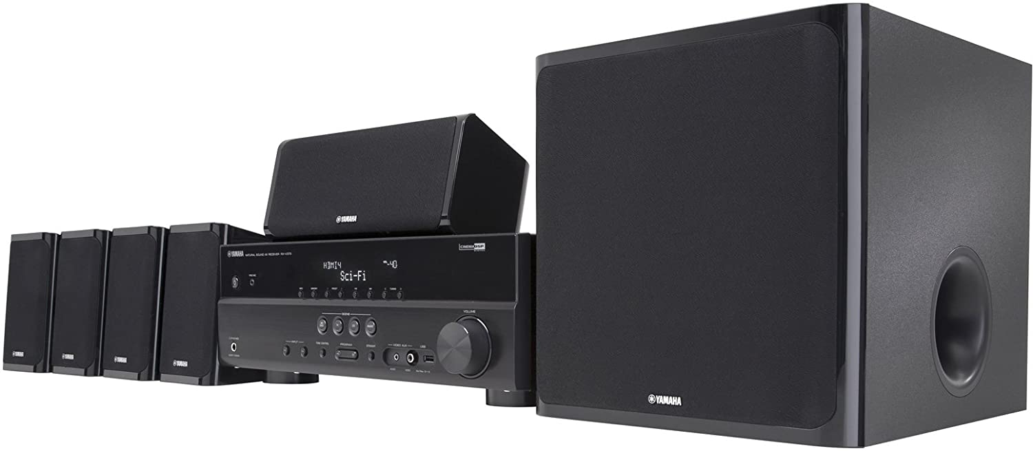 Buy yamaha yht 497 5 1 channel home theater system for Yamaha home stereo systems