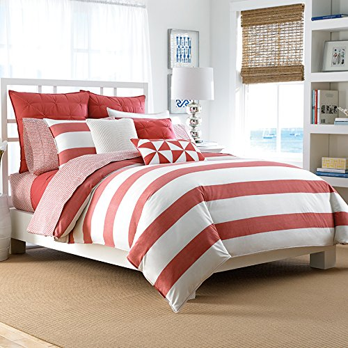 Nautica Lawndale Twin Bedding Coverlet Twin Coral front-1046026