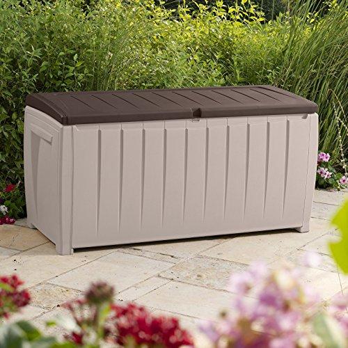 Keter Sumatra 135 Gallon Outdoor Storage Deck Box Dealtrend