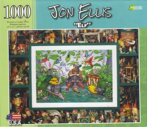 Elf By Jon Ellis 1000 Piece Puzzle