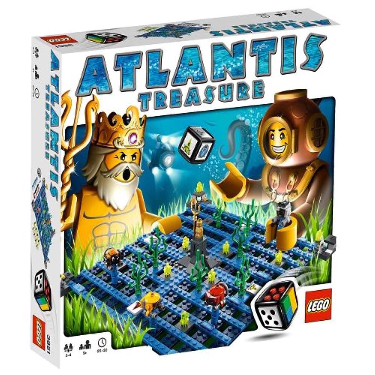 [해외] LEGO GAMES ATLANTIS TREASURE (3851)