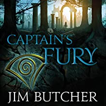 Captain's Fury: The Codex Alera: Book Four Audiobook by Jim Butcher Narrated by Kate Reading