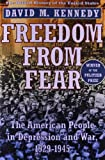 Freedom from Fear: The American People in Depression and War, 1929-1945 (Oxford History of the United States) (0195144031) by David M. Kennedy