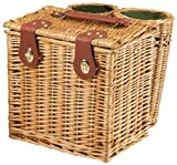 Picnic Time Vino Wine and Cheese Basket for Two