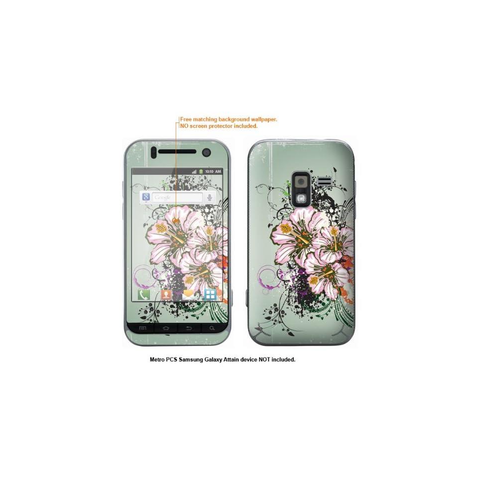 Protective Decal Skin Sticker for Metro PCS Samsung Galaxy Attain 4G case cover Attain 468