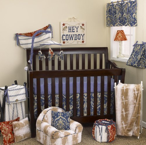 Cowboy Baby Bedding 3549 back
