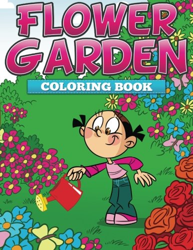 Flower Garden Coloring Book