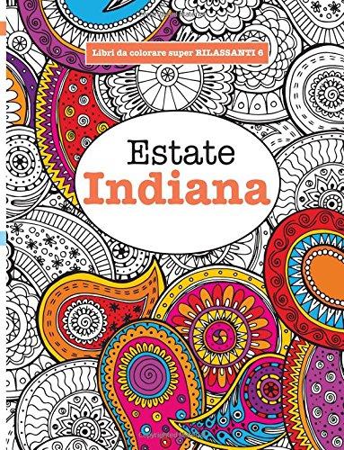 Libro da Colorare super RILASSANTE 6 Estate Indiana Volume 6 PDF