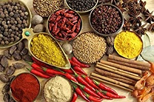 TOP QUALITY 15 INDIAN SPICES **FREE U.K POST** Spice Refill - Masala Dabba REFILL