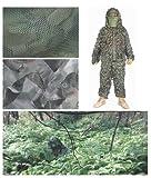ギリースーツ ジャングル 迷彩 スナイパー サバゲー バード ウォッチング