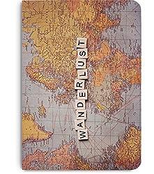 DailyObjects Wanderlust Map A5 Notebook Plain