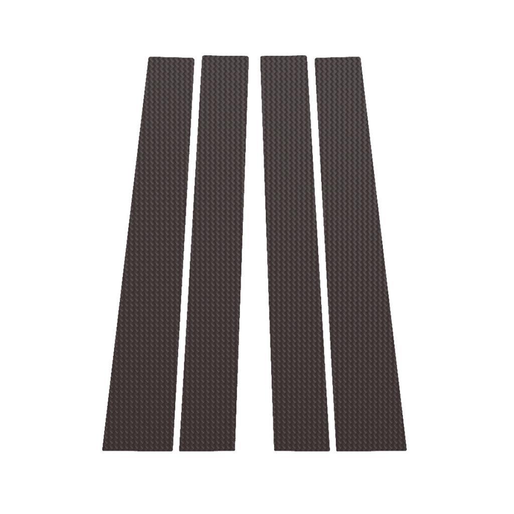 Carbon Fiber Pillar Post Trim Cover fits: 2011-2015 Toyota Sienna All Models - Ferreus Industries - PIL-116-CF