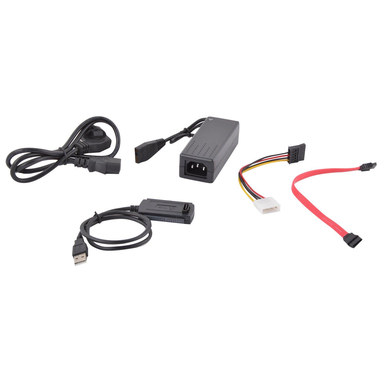 Adnet usb to sata/ide usb to sata adapter black   buy adnet usb to ...