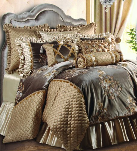 Jennifer Taylor Home, 9-Piece Comforter Set, Queen, Multcolored