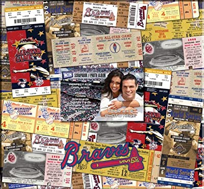 MLB Atlanta Braves 12x12 Scrapbook