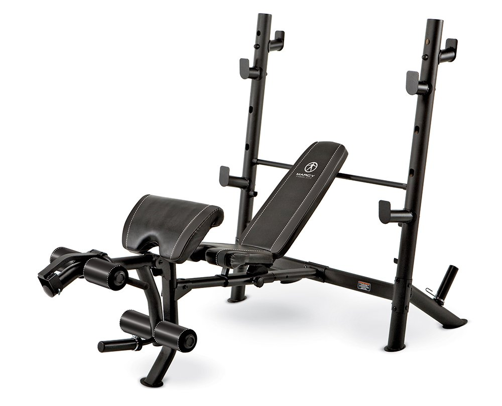 Marcy Diamond Mid-Size Bench marcy standard barbell bench be1000