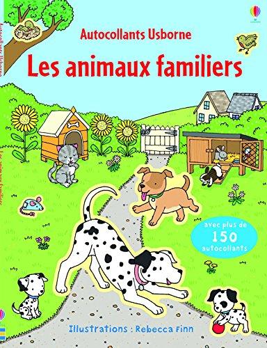Les animaux familiers (Autocollants Usborne)