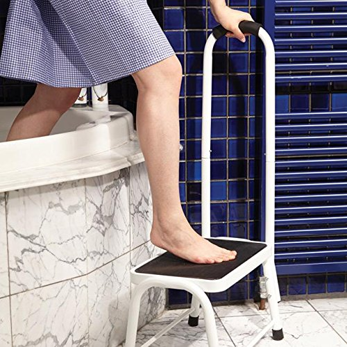 Safety Steps With Handrail Safety Step Stool Non-slip