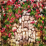 Flowers On The Wall 10' x 10' CP Backdrop Computer Printed Scenic Background