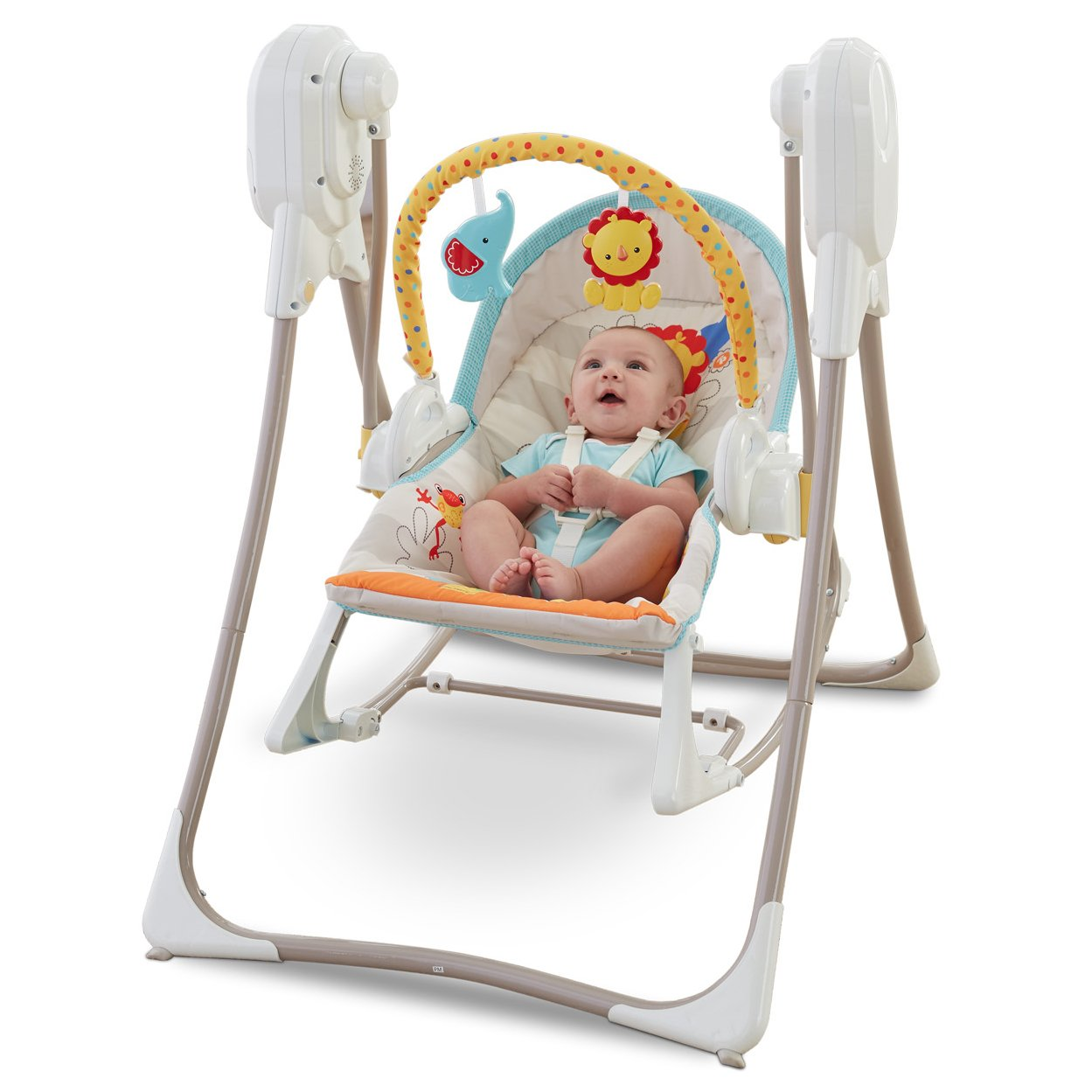 Fisher-Price 3-in-1 Baby Infant Swing-n-Rocker Chair ...