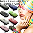 BLUE LARGE Zipper Case for | Ego | Ecigarette | Ehookah | Eliquid | E liquid | Electronic cigarette | Electric cigarette | e cigarettes