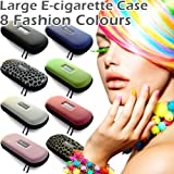 PINK LARGE Zipper Case for Ego Ecigarette Ehookah Eliquid E liquid Electronic cigarette Electric cigarette e cigarettes