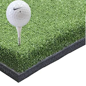 Exclusive Pro Hitting Golf Mat 4' x 4' - Holds a Wooden Tee from Golf Mats