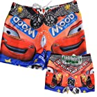 Little Hand Kids Boys Cool Cars Board Swimming Trunks Beach Shorts 5-9 Y